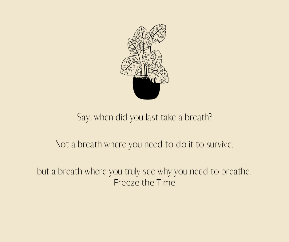 Freeze the Time